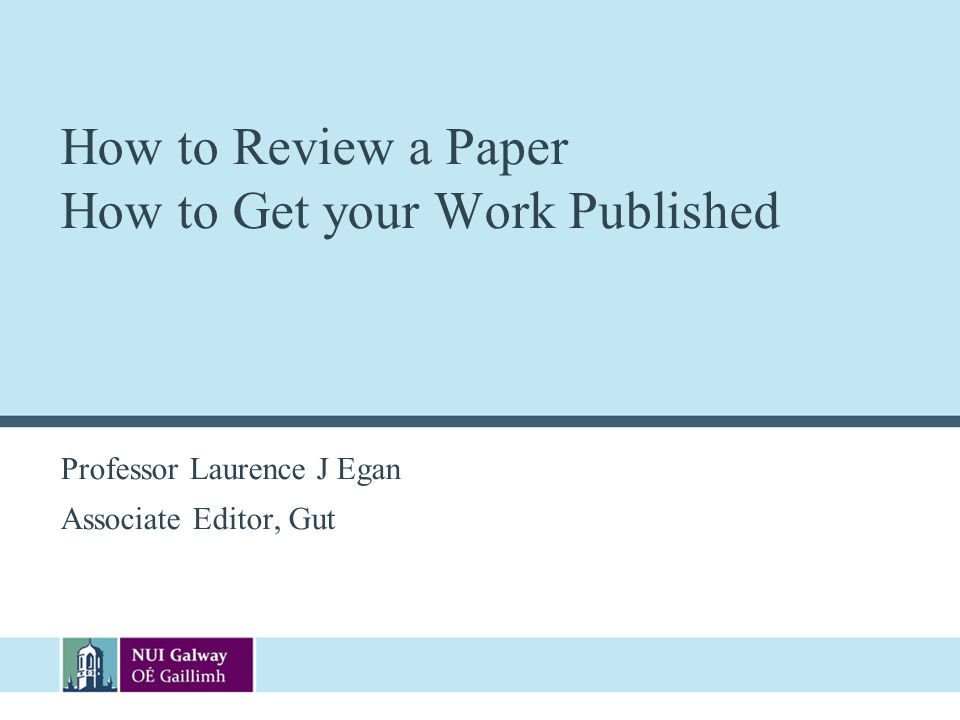 Tips on How to Get Your Research Published