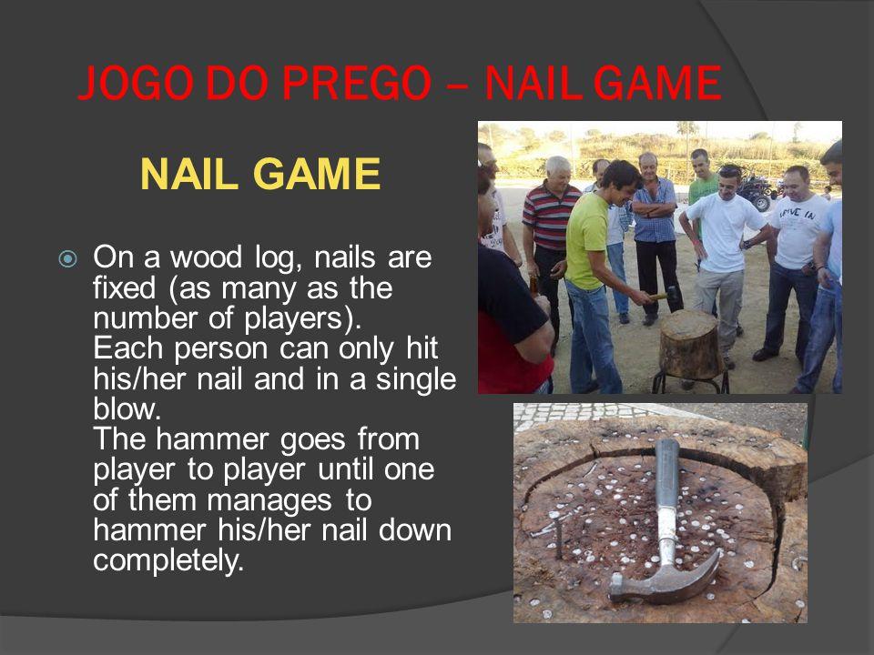 JOGO DO PREGO – NAIL GAME