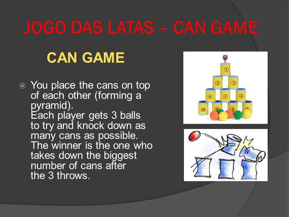 JOGO DAS LATAS – CAN GAME