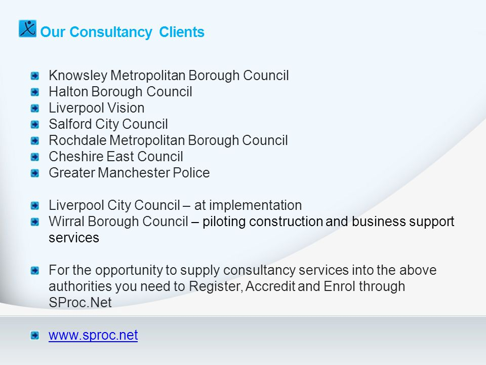 Our Consultancy Clients