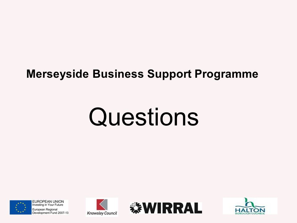 Merseyside Business Support Programme