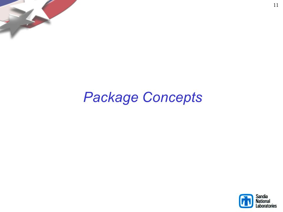 11 Package Concepts