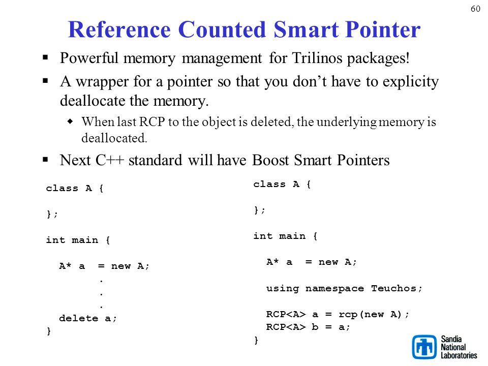 Reference Counted Smart Pointer