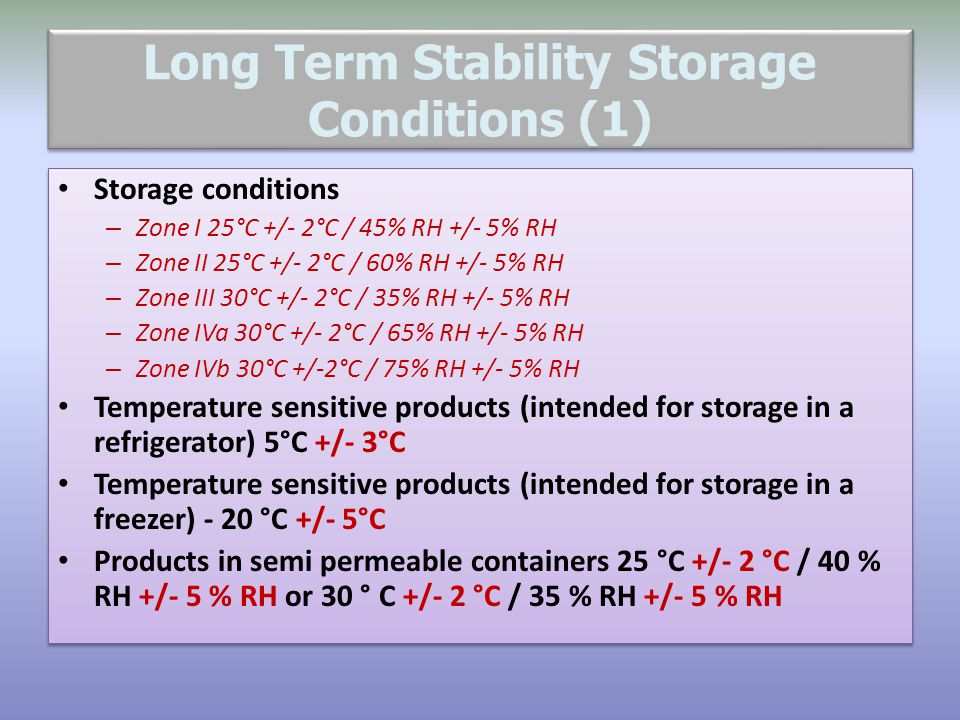 Long Term Stability Storage Conditions (1)