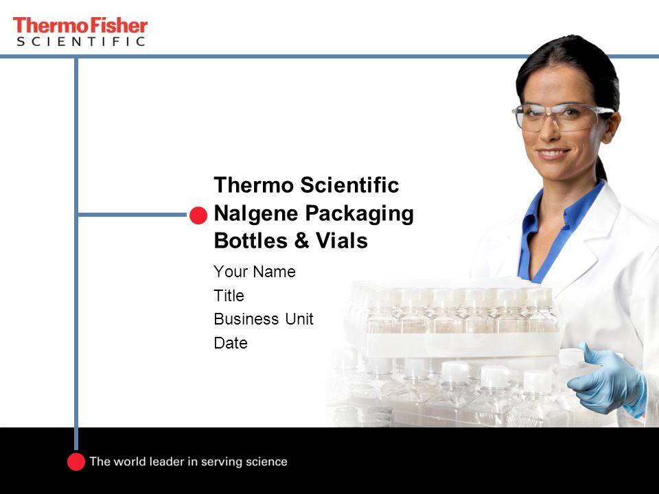 Thermo Scientific Nalgene Packaging Bottles & Vials