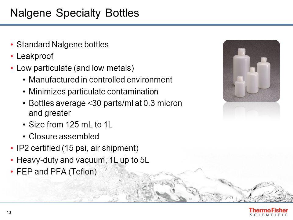 Nalgene Specialty Bottles