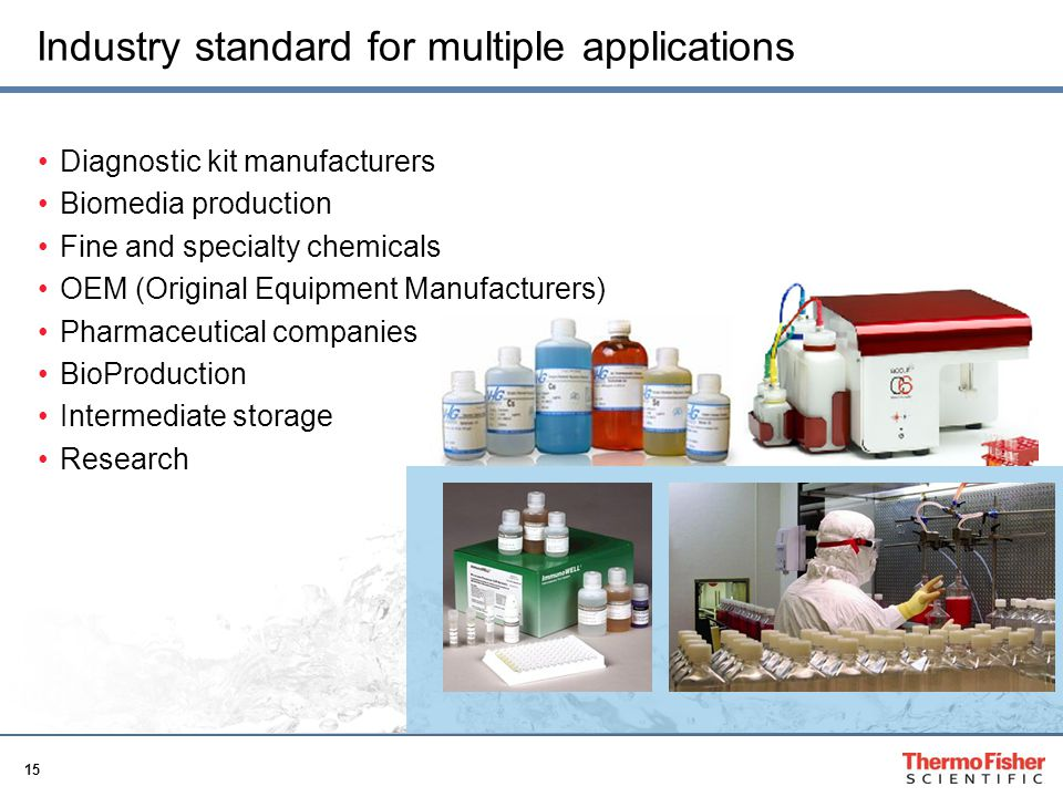 Industry standard for multiple applications