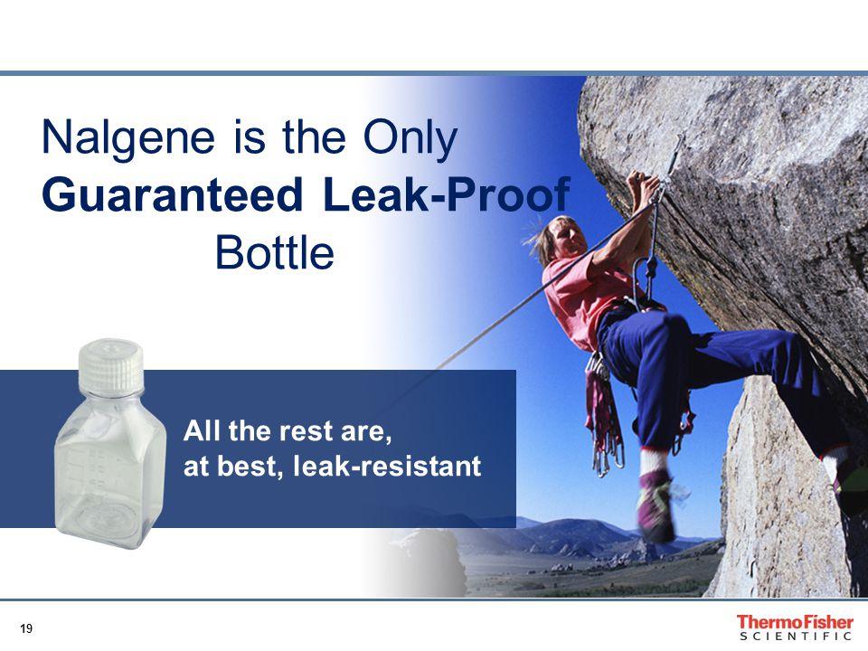 Guaranteed Leak-Proof Bottle