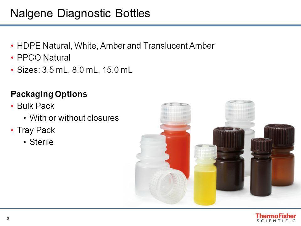 Nalgene Diagnostic Bottles