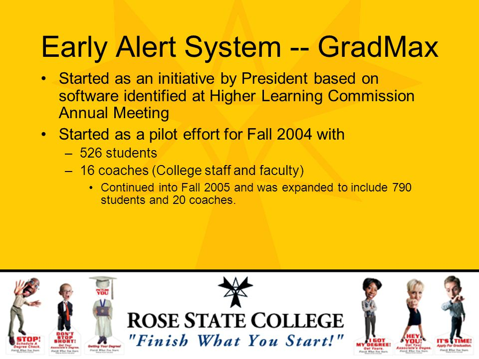 Early Alert System -- GradMax