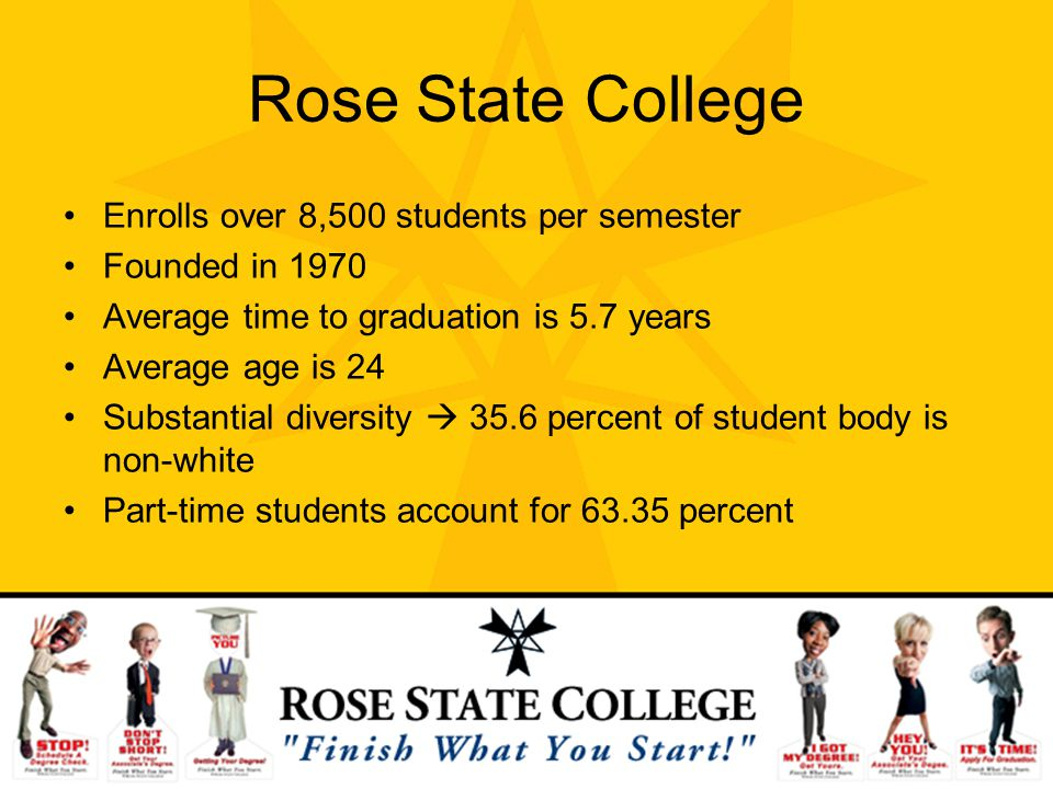 Rose State College Enrolls over 8,500 students per semester