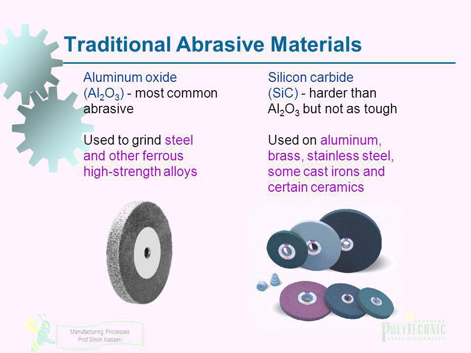 Traditional Abrasive Materials