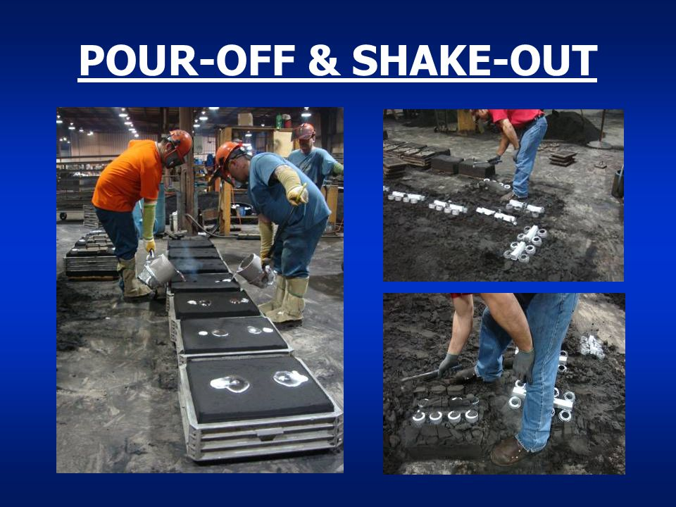POUR-OFF & SHAKE-OUT