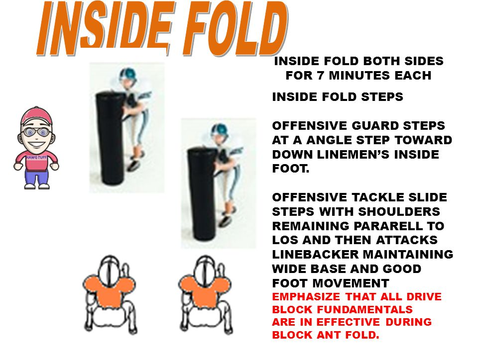 INSIDE FOLD BOTH SIDES FOR 7 MINUTES EACH