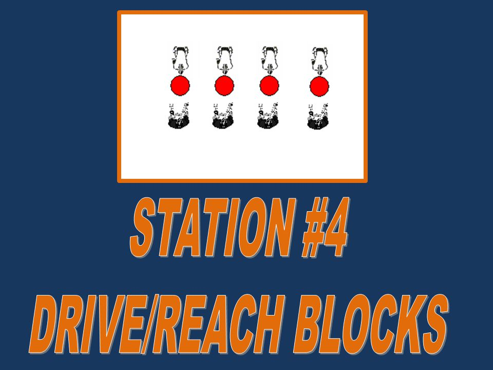 STATION #4 DRIVE/REACH BLOCKS