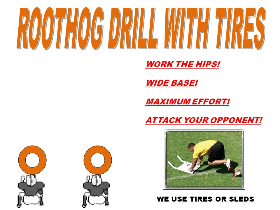 ROOTHOG DRILL WITH TIRES