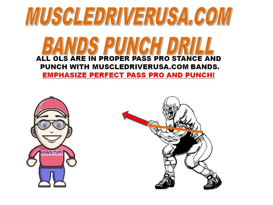 MUSCLEDRIVERUSA.COM BANDS PUNCH DRILL