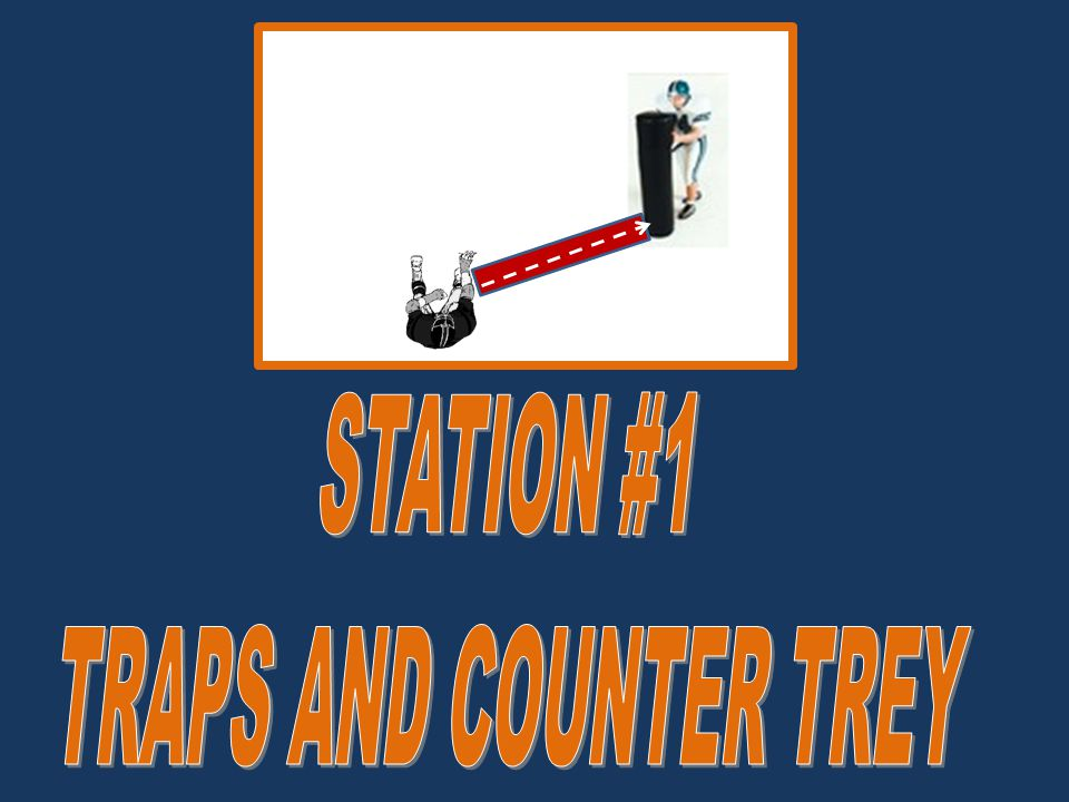STATION #1 TRAPS AND COUNTER TREY
