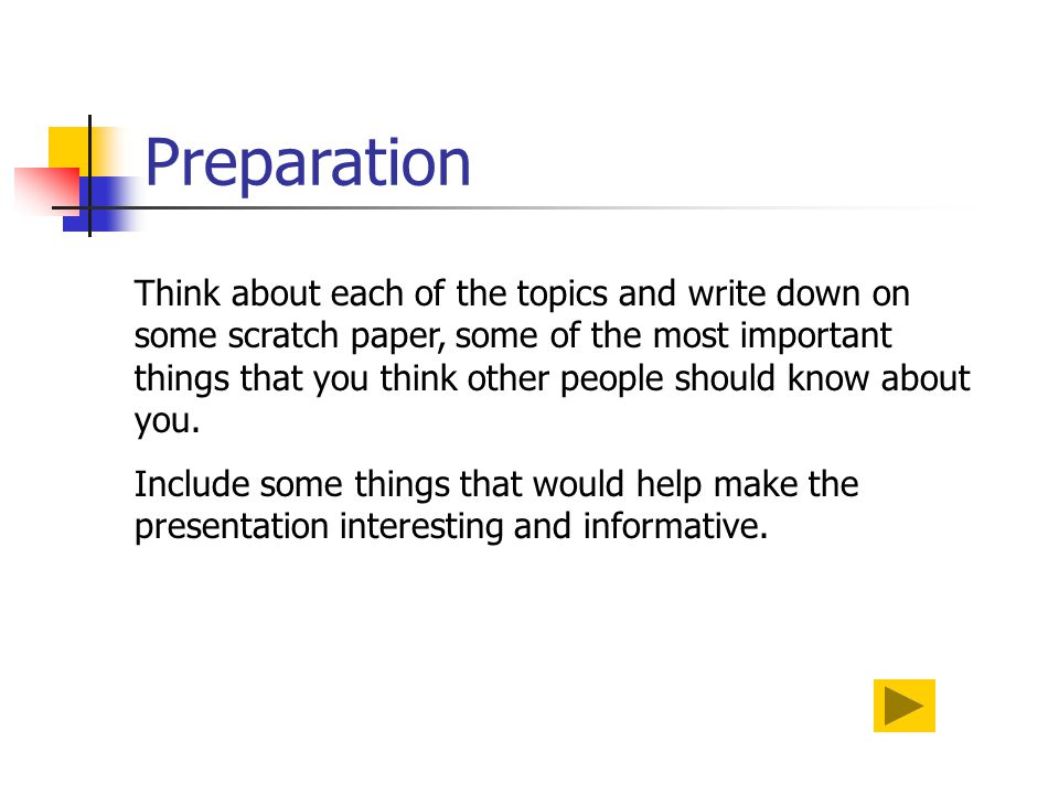 powerpoint presentations ppt 7 preparation