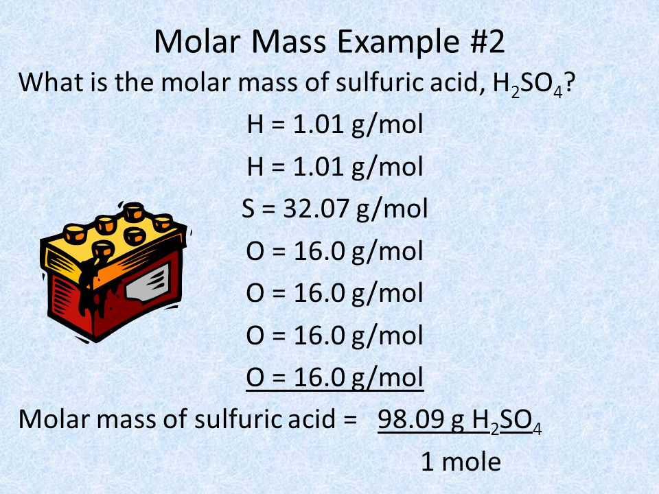 Molar Mass Example #2