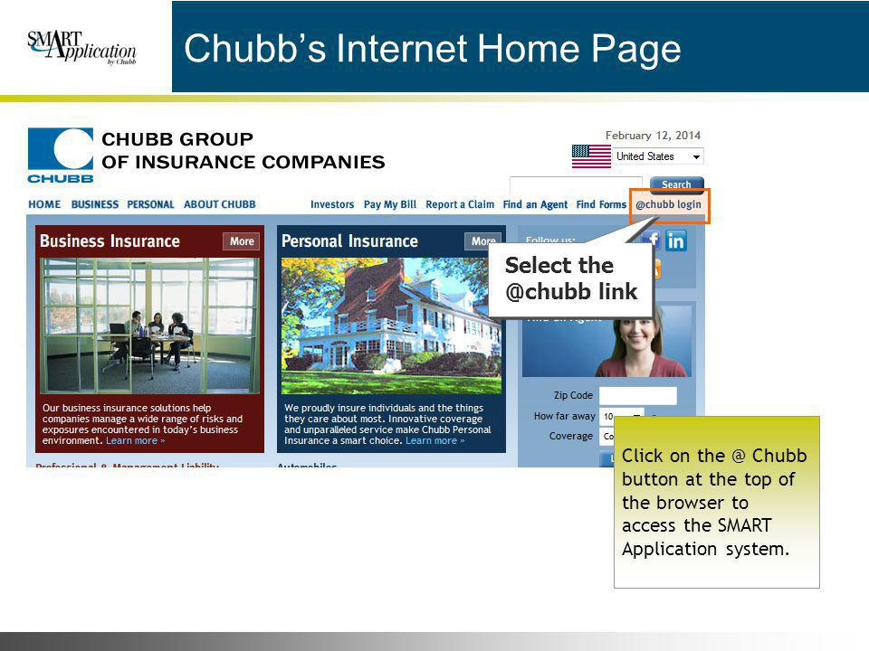 Chubb's Internet Home Page