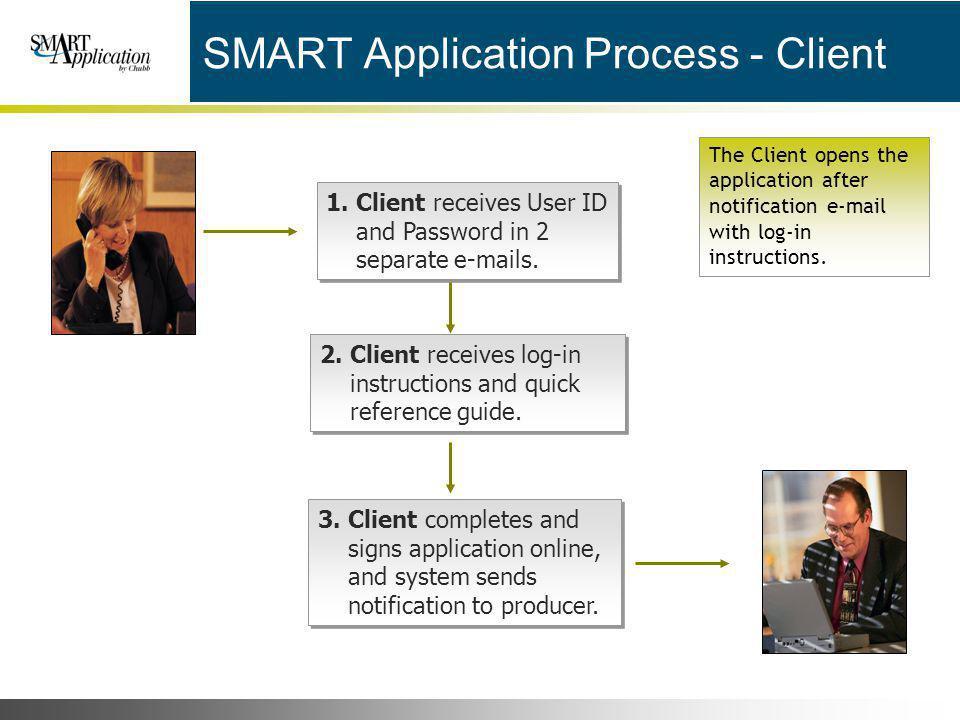 SMART Application Process - Client