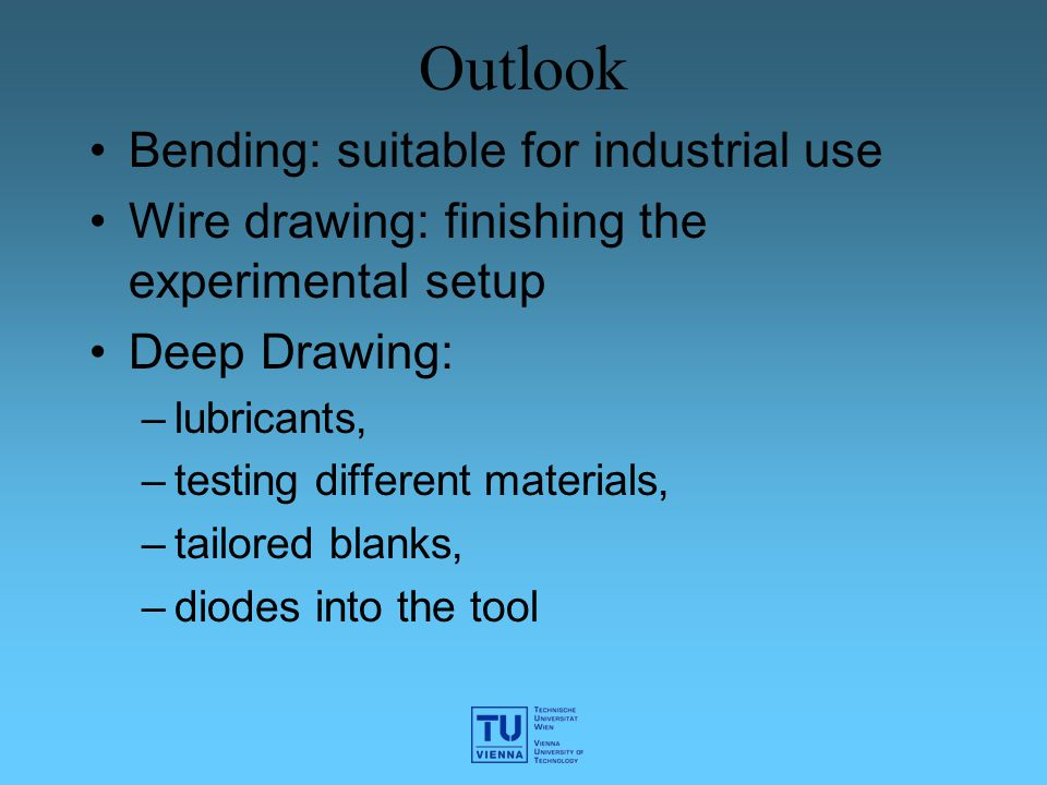 Outlook Bending: suitable for industrial use