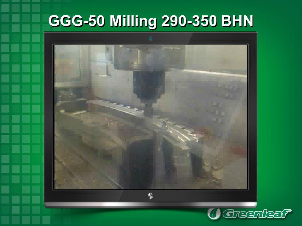 GGG-50 Milling 290-350 BHN