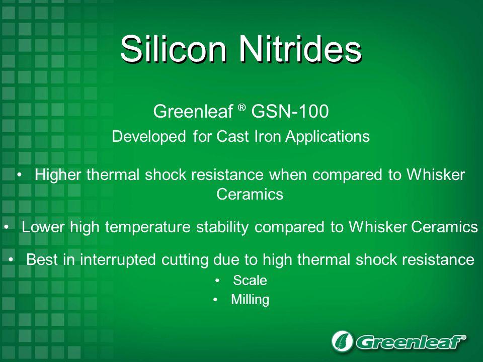Silicon Nitrides Greenleaf ® GSN-100