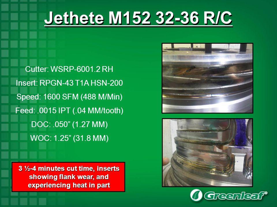 Jethete M152 32-36 R/C Cutter: WSRP-6001.2 RH