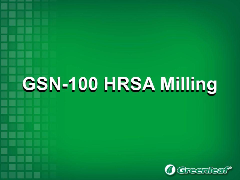 GSN-100 HRSA Milling