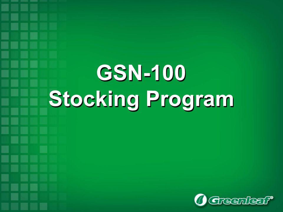GSN-100 Stocking Program