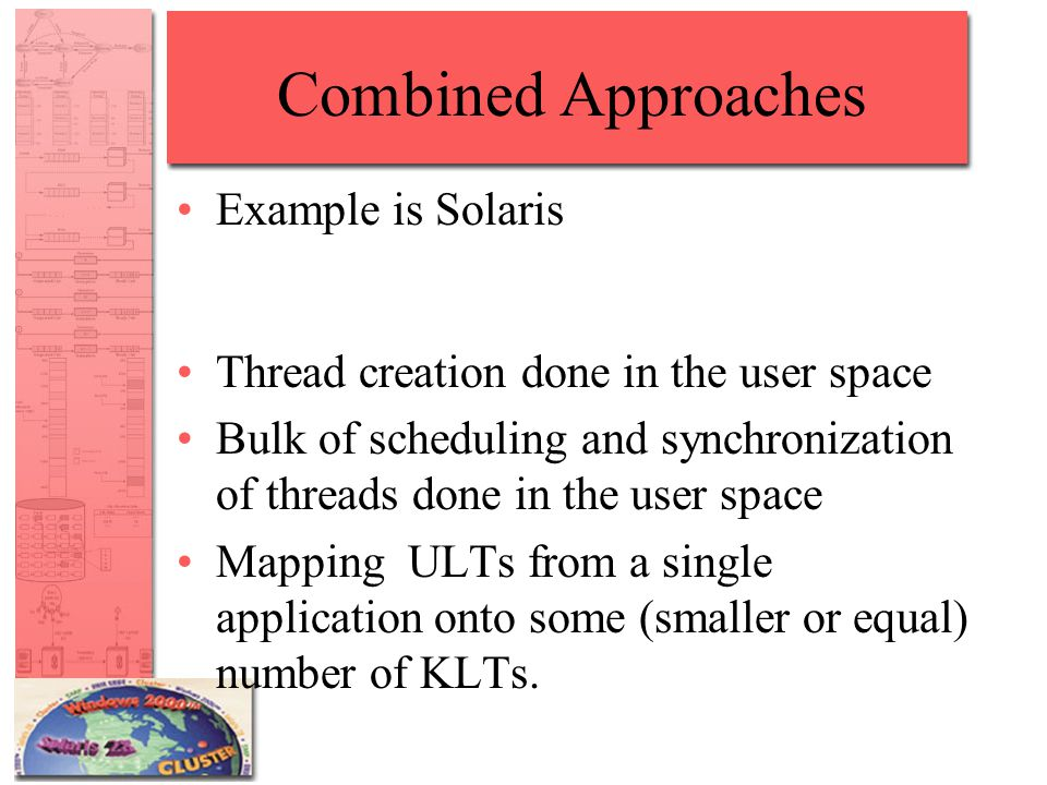 Combined Approaches Example is Solaris