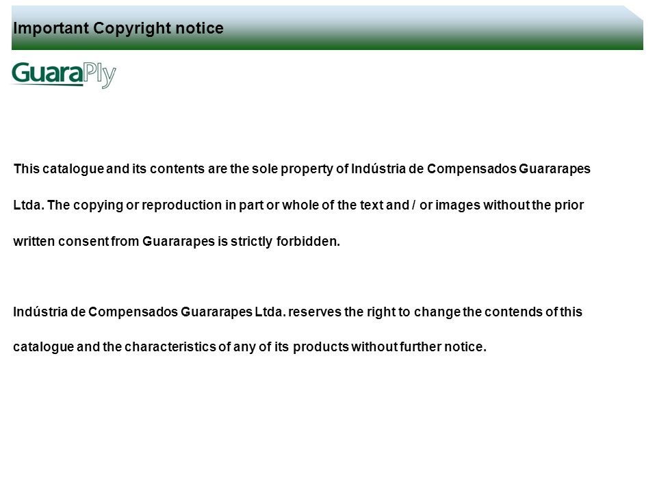 Important Copyright Notice  Ppt Video Online Download