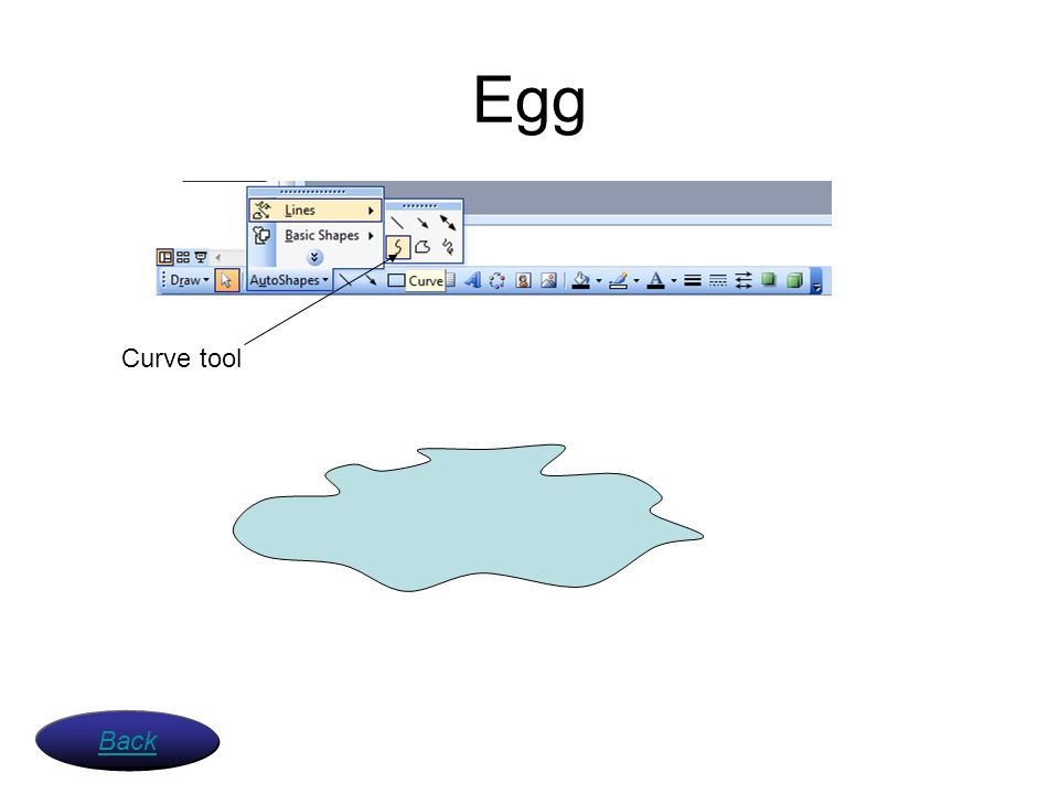 Egg Curve tool Back