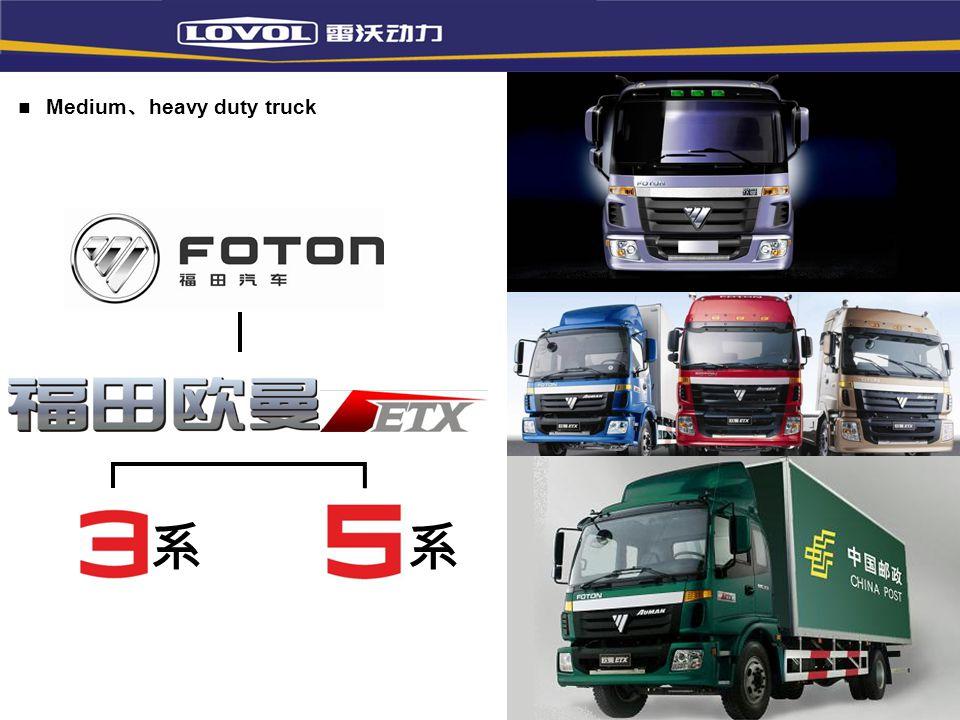 Medium、heavy duty truck