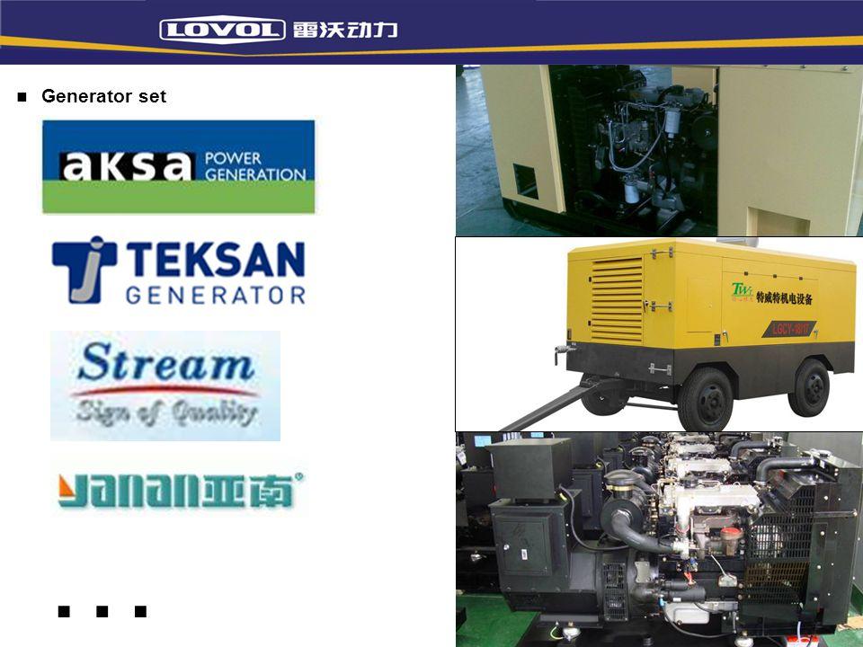 Generator set …