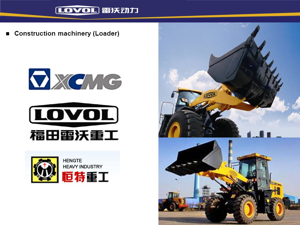 Construction machinery (Loader)