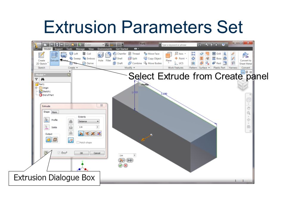 Extrusion Parameters Set