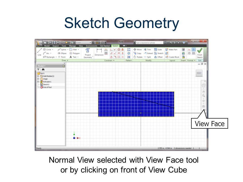 Parametric Modeling Gateway To Technology® Unit 1 – Lesson 1.5 – Designing For Production. Sketch Geometry.