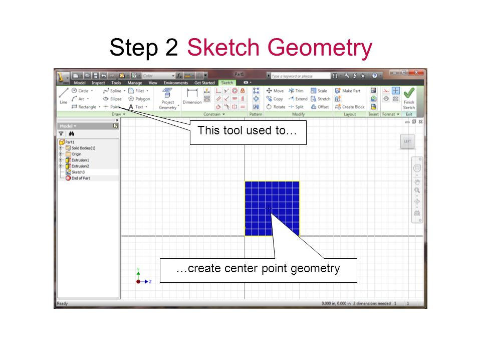 …create center point geometry