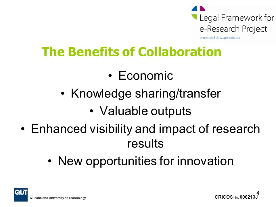 The Benefits of Collaboration