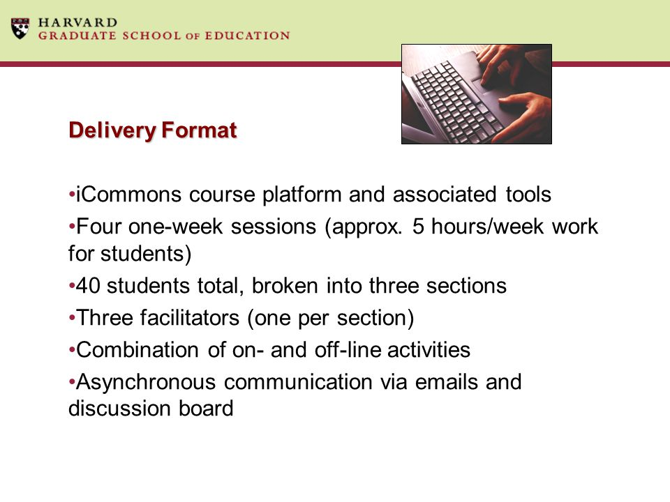 iCommons course platform and associated tools