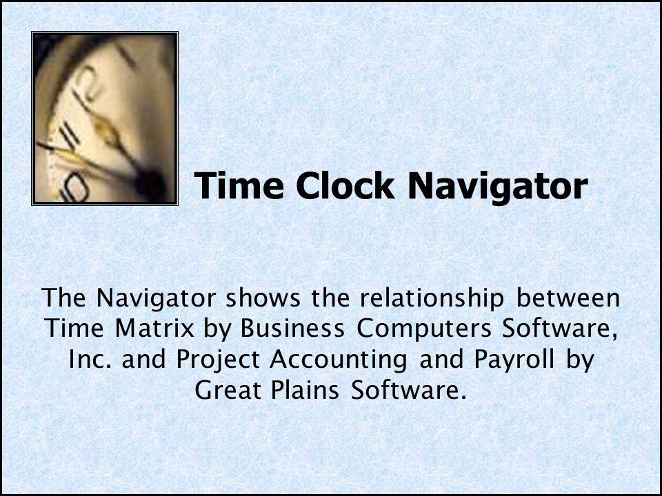 Time Clock Navigator