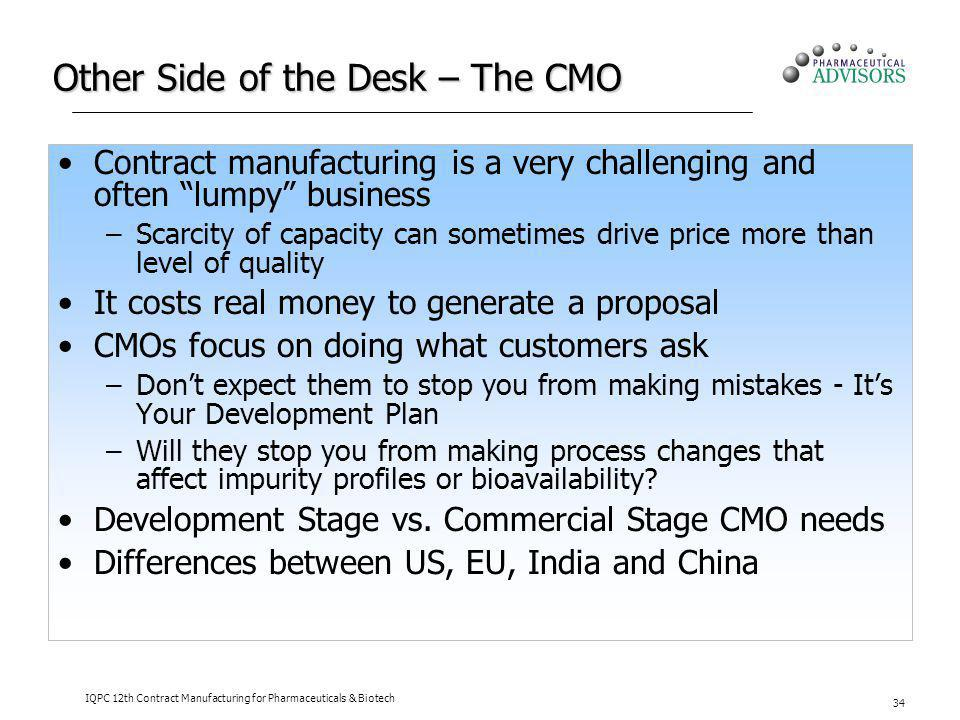 Other Side of the Desk – The CMO