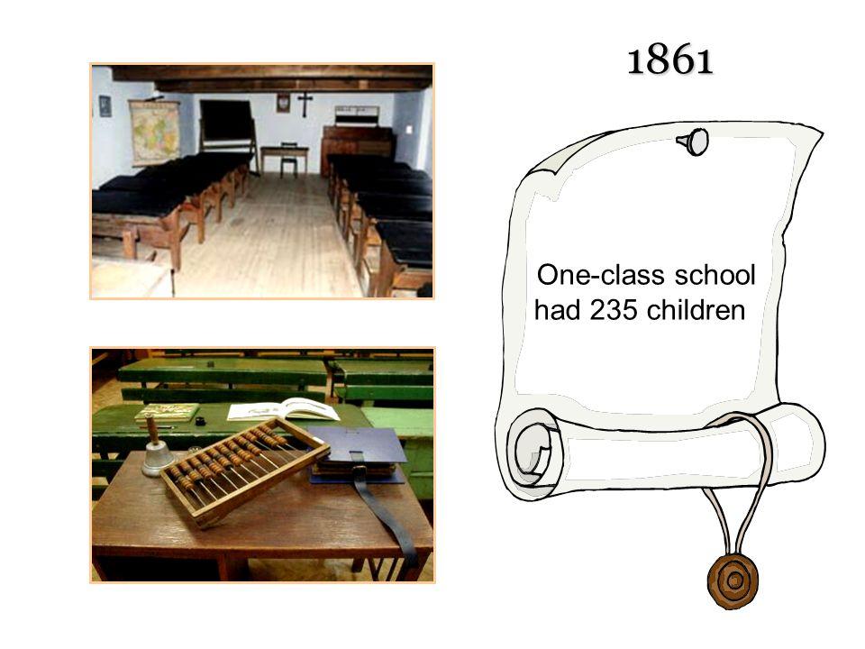 One-class school had 235 children