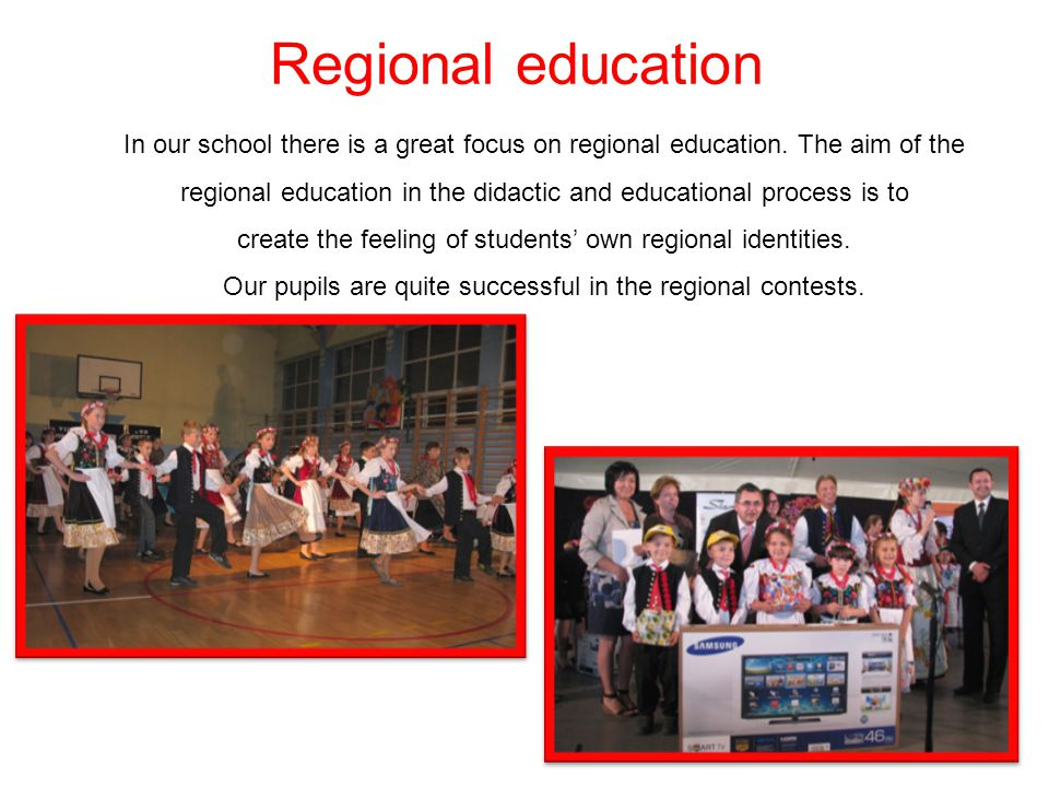 Regional education
