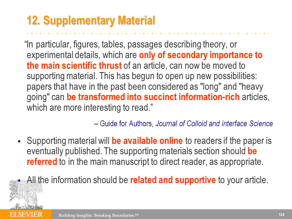 12. Supplementary Material