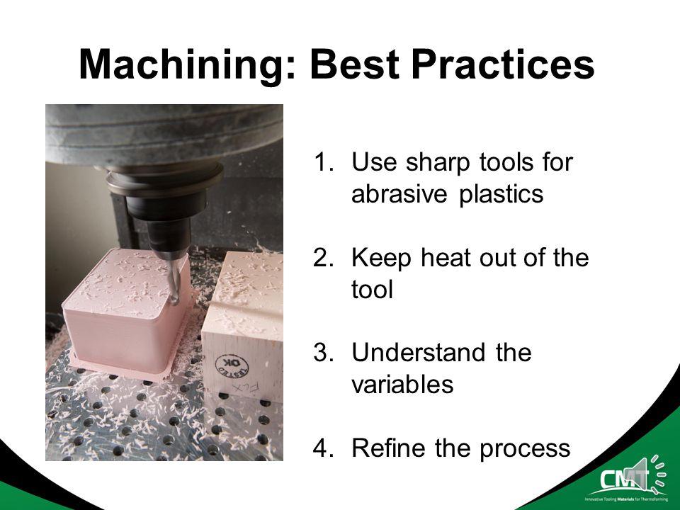 Machining: Best Practices