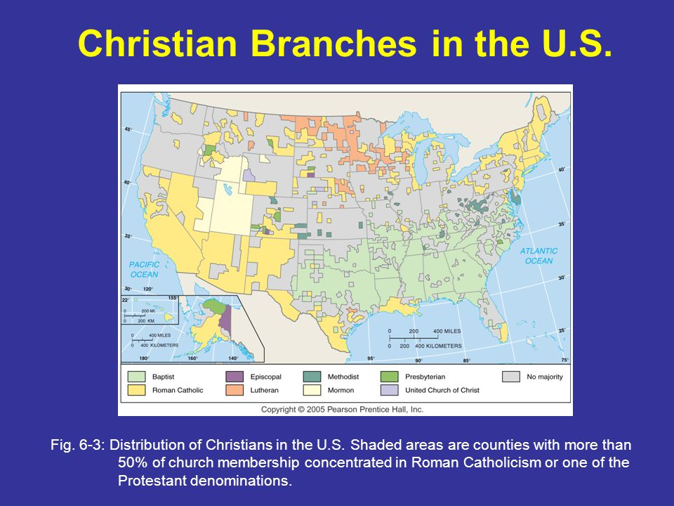 Christian Branches in the U.S.